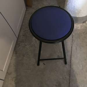 For sale: Small foldable stool - €5
